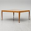 Josef frank, a model 2073 coffee table, firma svenskt tenn, sweden.