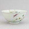 A famille rose bowl, 20th century.