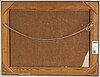 Oskar bergman, oil on panel, signed and dated 1934.