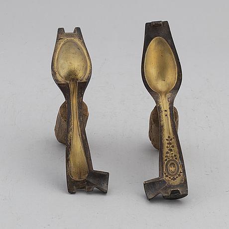 Gjutform, brons, frankrike, 1800-tal.