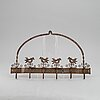 HÄngare, smide, 1800-tal.