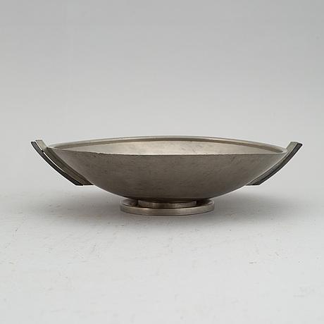 Fat, tenn, modell arström, art déco, 1934.