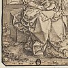 Hans burghmair, circle of. signed with h b monogram in reverse. inkwash, image: 19 x 12.5 cm.