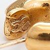 ÖrhÄngen, 18k guld. finland 1998.