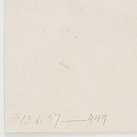 Johan tobias sergel, hans krets. osignerad. tuschlavering, bildyta 12,5 x 23,5 cm.