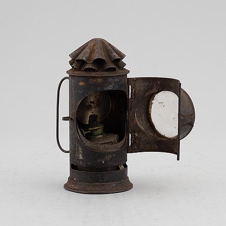 Handlykta, plåt, 1800-tal.