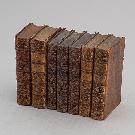 BÖcker, 7 st, 1700-tal.