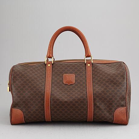 "CÉline, weekendbag, ""macadam duffle bag""."