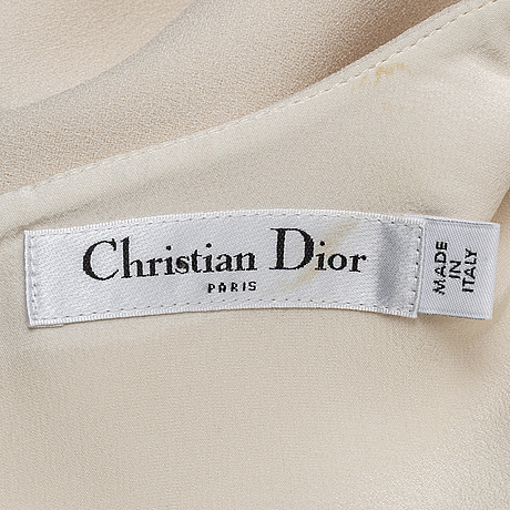 Christian dior, a dress, size 44.