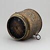 Ytterfoder, mässing, 1800-tal.