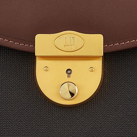 Dunhill, briefcase.