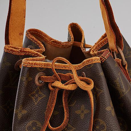 "Louis vuitton, väska, ""petit noé""."