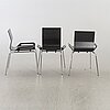 BjÖrn dahlstrÖm, stolar, 6 st, modell b6, cbi, 1990-tal.