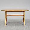 Carl malmsten, a birch veneered 'lilla salen' coffee table.