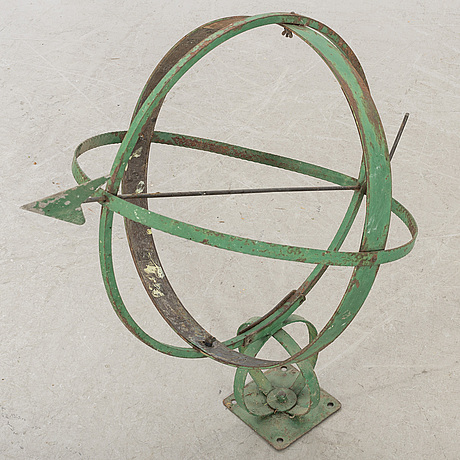 An early 20th century swedish sundial.