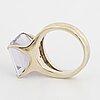 H. stern amethyst ring.