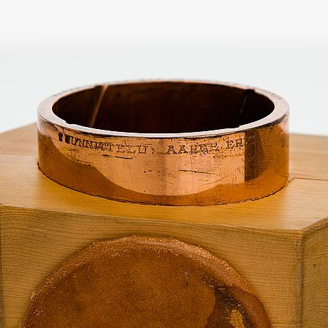 Aarne ervi, a 1960's speaker's gavel for westerback.