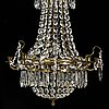 A second half of the 20th century gustavian style chandelier.