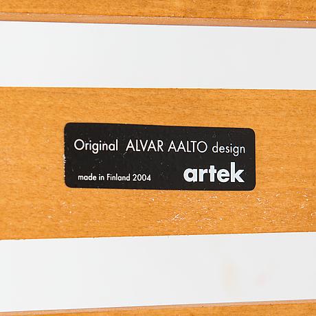 Alvar aalto, a '153b' bench for artek 2004.