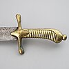 A mid 19th century german fascine knife.
