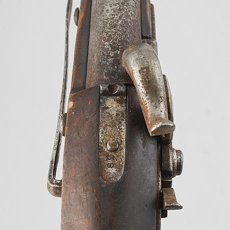 A swedish navy percussion pistol 1854 pattern.