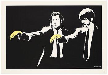 """366. Banksy, """"Pulp Fiction""""."""
