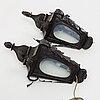 A pair of 19th century lanterns.