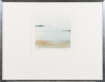 INARI KROHN, etching and aquatint, signed and dated 1982, numbered 3/30 tpl'a.