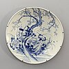 A probably 19th century japanese porcelain dish.