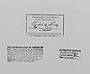 AndrÉ de dienes, efter fotografi/fine art print, stämpelsignerat av sterbhuset 141/200 och daterad 2006 a tergo.