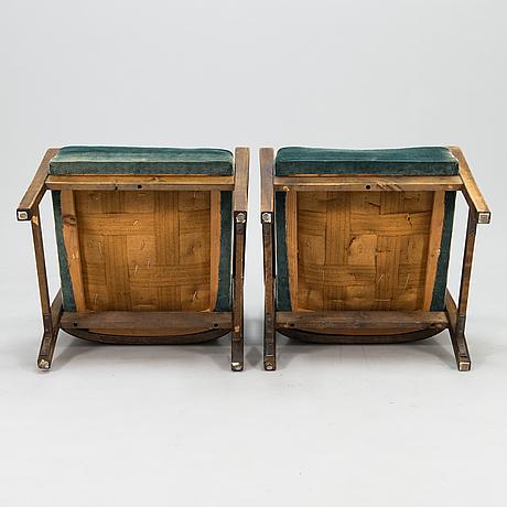 A 1938 armchairs for oy stockmann ab, keravan puusepäntehdas.