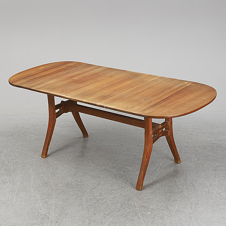 Carl malmsten, a pine dining table, second half of the 20th century.