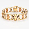 An 18k red and yellow gold bracelet. graziella, italy.