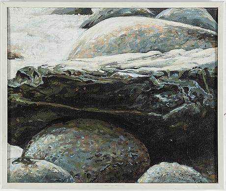 GÖsta calmeyer, oil on canvas, signed.