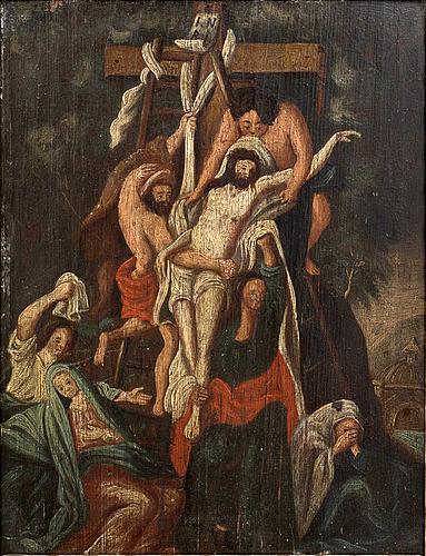 Unidentified artist, 18th/19th century, oil on panel.