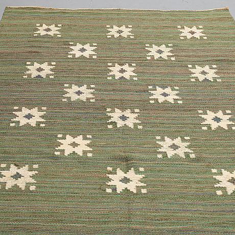 Matta, rölakan, ca 214-216,5 x 152,5-155 cm, sverige 1900-talets förra hälft.