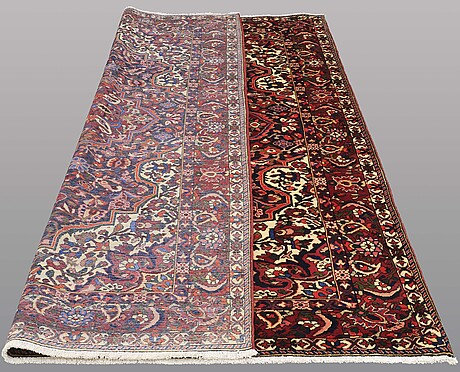 A carpet, baktiari, ca 315 x 212 cm.