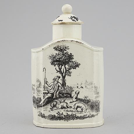 Tedosa, flintgods, england, 1700-tal.