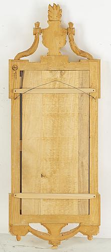 "Spegel, gustaviansk stil, ""meunier"", ur ikea:s 1700-talsserie, 1990-tal."