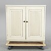 A painted gustavian sideboard, early 19th century.