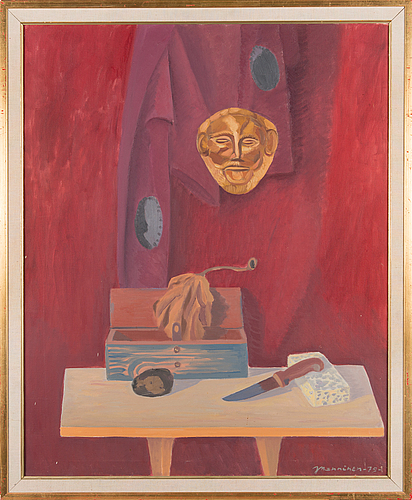 Jaakko manninen, oil on canvas, signed and dated -79.