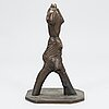 Alpo jaakola, bronsskulptur, signerad och daterad 1978.
