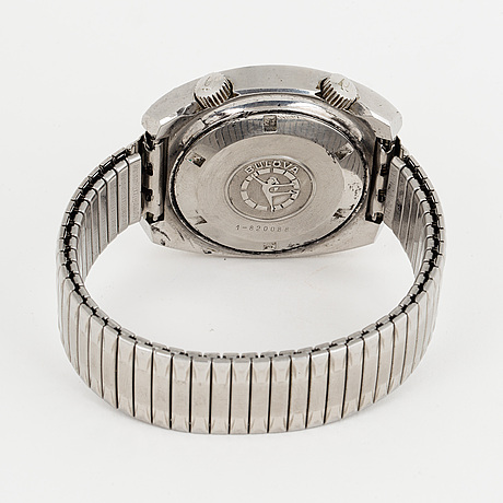 Bulova, accutron, armbandsur, 41 (45) mm.