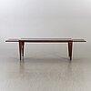 Kai christensen, a danish palisander lounge table.
