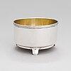 A russian silver bowl, mark of friedrich johann drevsen, assay master aleksandr jashinov, saint petersburg, 1818-1826.
