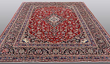 A carpet, mashad, ca 346 x 248 cm.