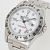 Rolex, oyster perpetual date, explorer ii, chronometer, wristwatch, 42 mm.