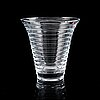 Aino aalto, a 'bölgeblick' glass vase, iittala.