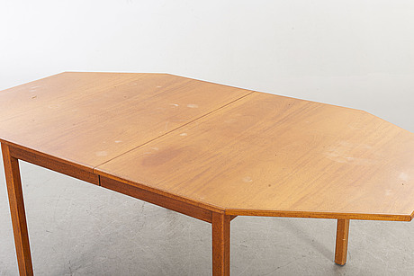 A dinner table mid 20th century.
