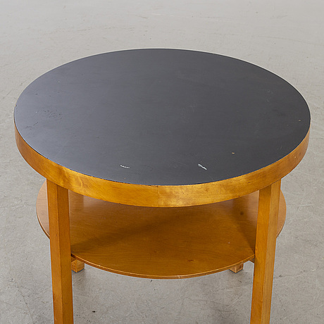A 1930-40's coffee table, possibly axel larsson, bodafors, sweden.